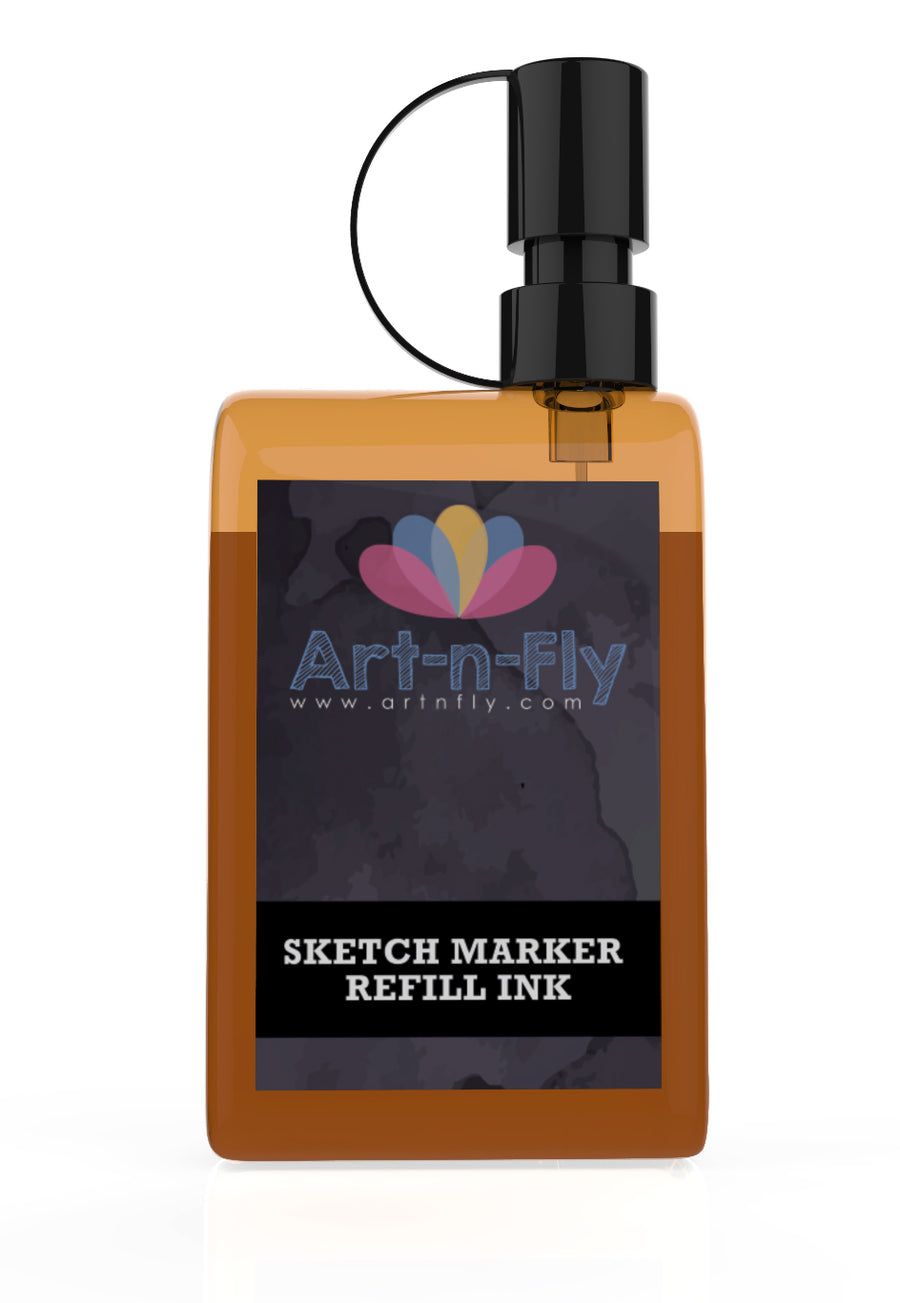 ALCOHOL INK REFILL FOR SKETCH MARKERS - SKIN TONES