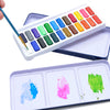 24 Watercolor Paint Set with Water Brush