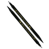 Dual Tip Black Brush Pen - Set of 2