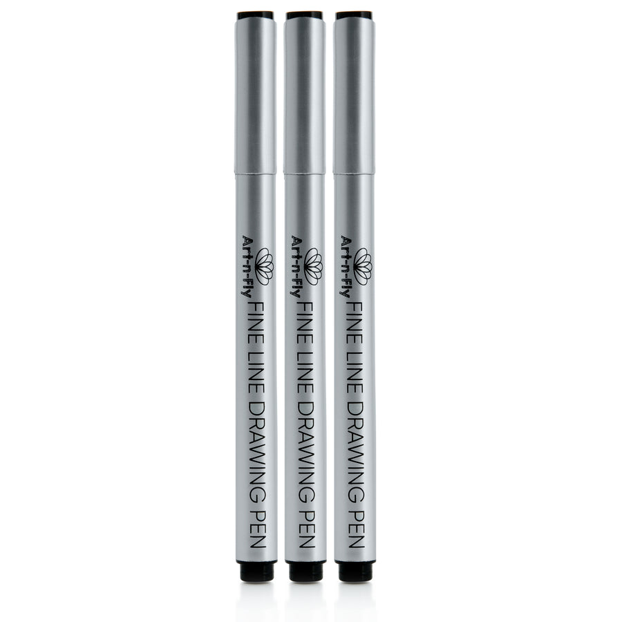 fineliner pen black