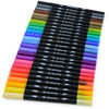 25 Dual Tip Color Brush Pen Set