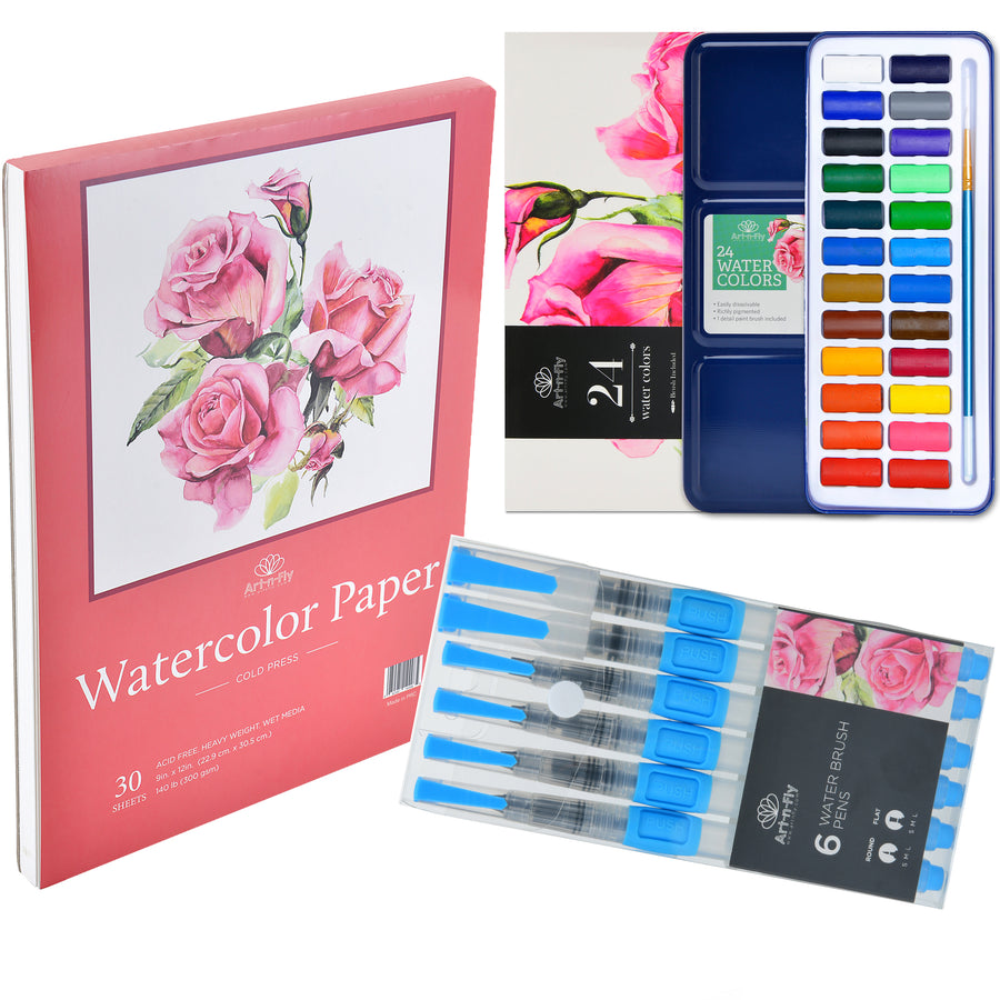 "The ""Watercolor Anywhere"" Bundle"