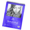 100 Sheets 9 x 12 Inch sketch pad - Textured surface
