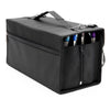Art-n-Fly 120 Marker Storage Case - Zippered Pouch Zipper Sides and Velcro Reinforced Bag with Carrying Handle Strap and Buckle