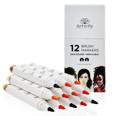 NEW Skin tone markers - Set of 12