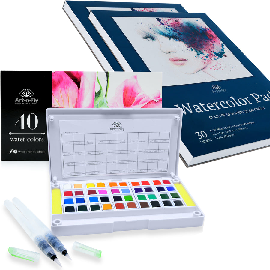 The Watercolorist's Delight Bundle