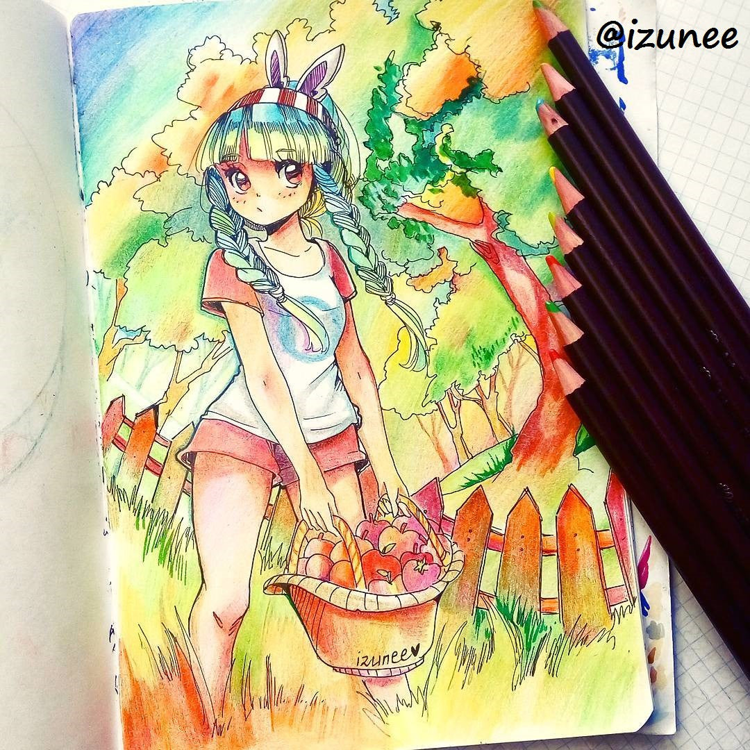 Oil Based Colored Pencils 48 Colors