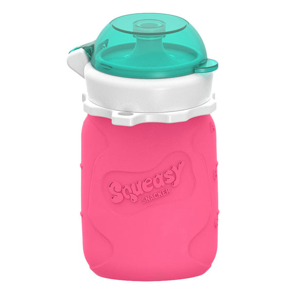 Squeasy Snacker 6oz Pink | سكوي سناكر 6oz الوردي