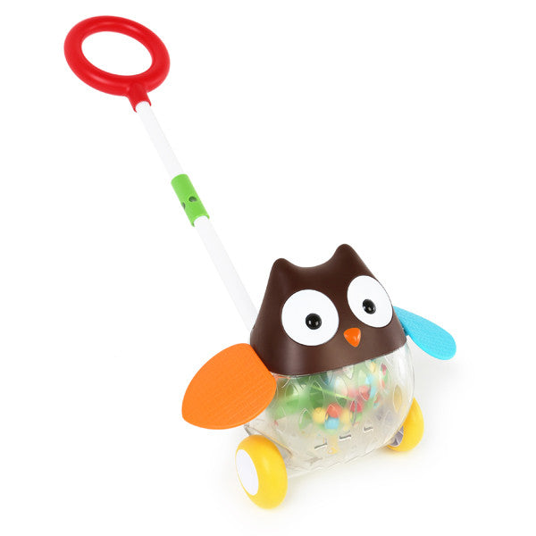 Skip Hop Explore & More Rolling Push Toy Owl