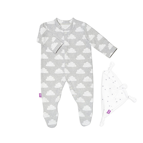 Snuz Baby Sleepsuit & Comforter Gift Set  - Cloud Nine