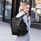 Skip Hop Chelsea Diaper Backpack Black