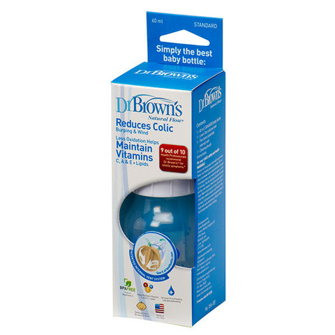Dr Brown's 2oz Natural Flow Baby Bottle