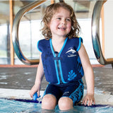 Konfidence Jacket - Buoyancy Aid for Swimming with Removeable Floats 4 - 5 yrs