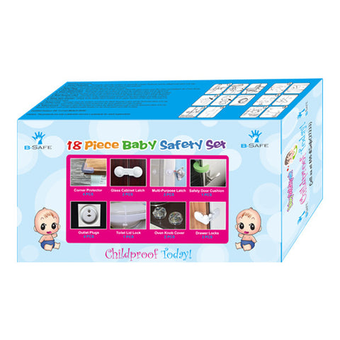 B-Safe Baby Safety Set (18 pcs)