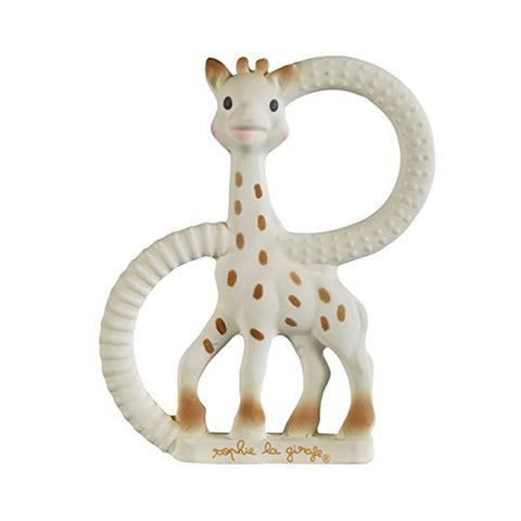 "SOPHIE LA GIRAFE SO'PURE TEETHER (NATURAL RUBBER) ""VERY SOFT"""