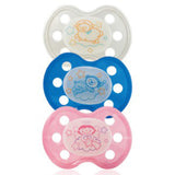Baby Nova Silicon orthodontic pacifier- Deco - Size 1