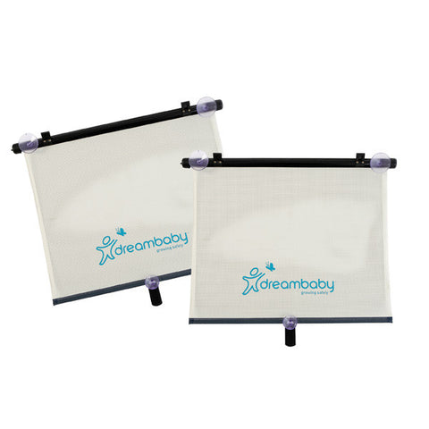 Dreambaby® Extra Wide Car Window Shade - Adjustable 2 pack