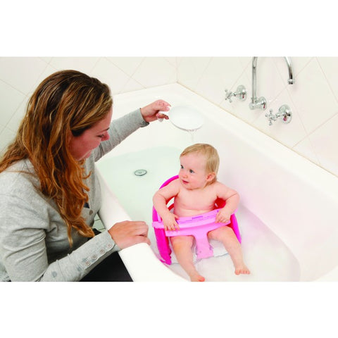 Dreambaby PREMIUM BATH SEAT - PINK WITH PINK SCOOP | دريمبابي بريميوم باث سيت - بينك ويث بينك سكوب