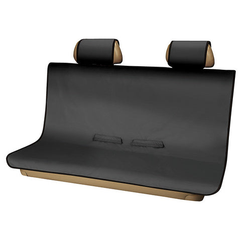 3D Seat Protector Rear (Medium) - Black