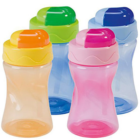 Baby Nova Cup Straw Assorted Color 300 ML