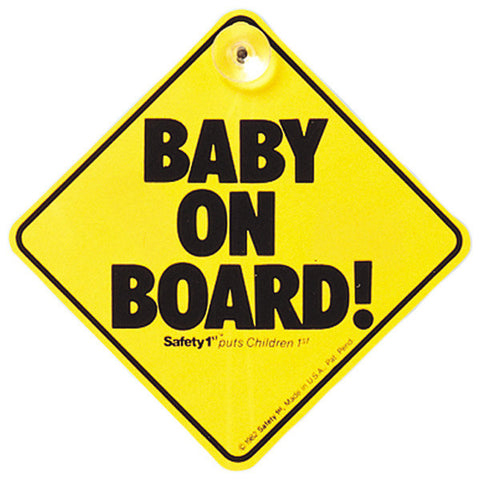 Safety 1st Baby on board yellow (EN)