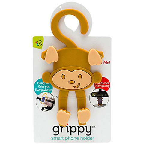 BuggyGear Grippy Smart Phone Holder - Monkey
