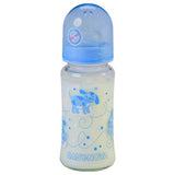 Baby Nova Glass Bottle Decorated Wide Neck 240 ML