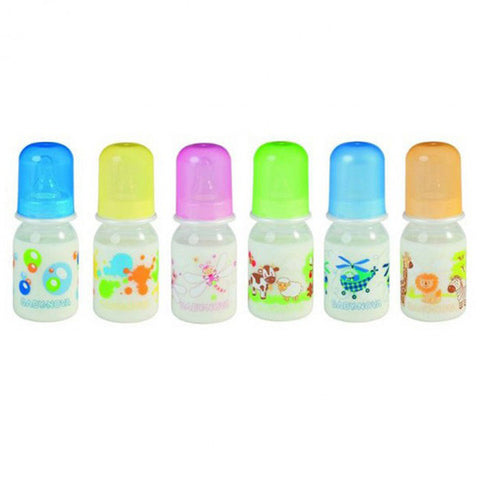 Baby Nova PP Bottle Deocrated Assorted Motiv. 125 ML
