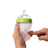 "Comotomo ""Natural Feel"" Baby Bottle (Double Pack) Green 250ml (8oz)"