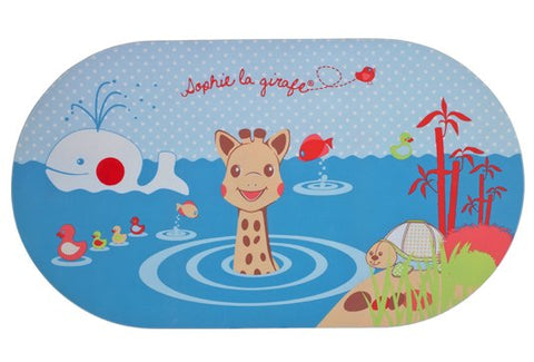 SOPHIE LA GIRAFE WATER MAT WITH TEMPERATURE INDICATOR