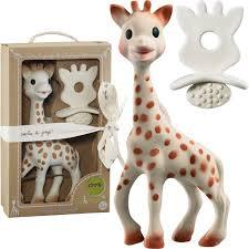 Sophie la girafe & chewing rubber
