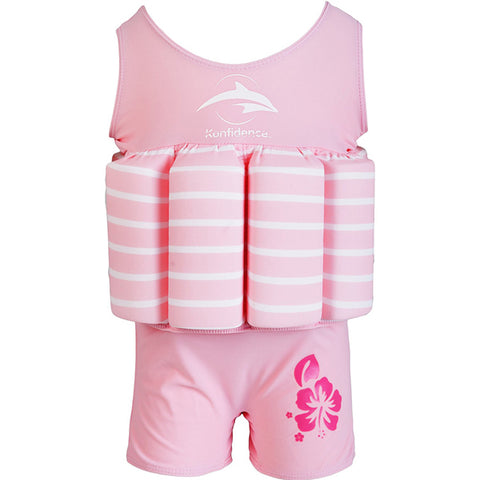 Konfidence Float Suit - Buoyancy Aid for Swimming with Removeable Floats 1-2 yrs