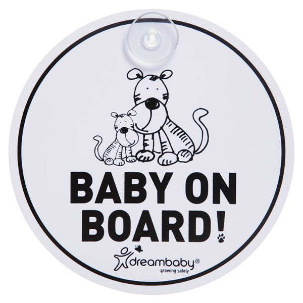 Dreambaby® Tiger Baby on Board Sign