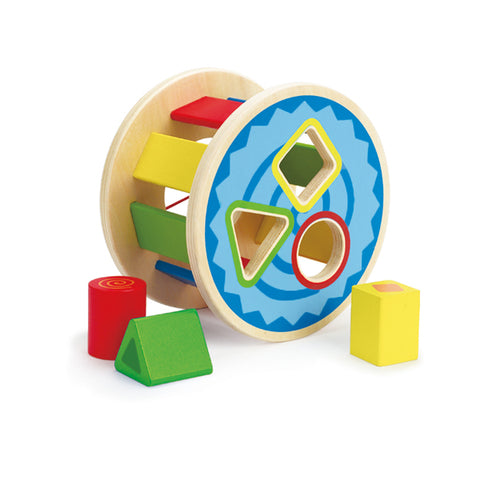 J'ADORE Rolling Rainbow Shape Sorter Multicoloured