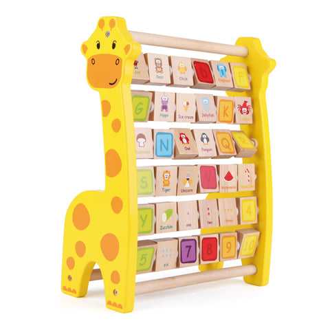 J'ADORE Giraffe Smart Abacus Multicoloured