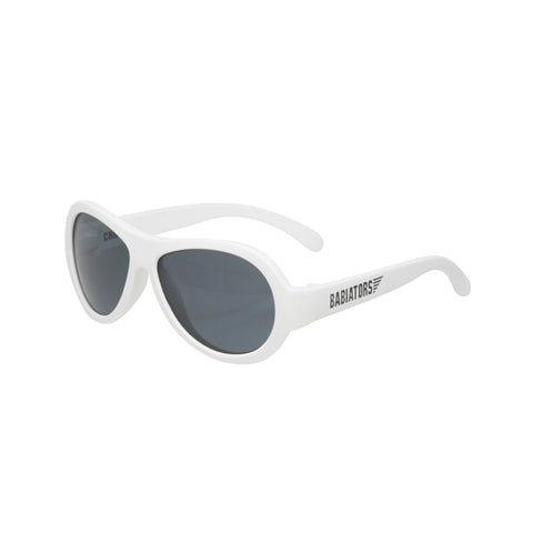 Babiators Original Aviator Junior Wicked White