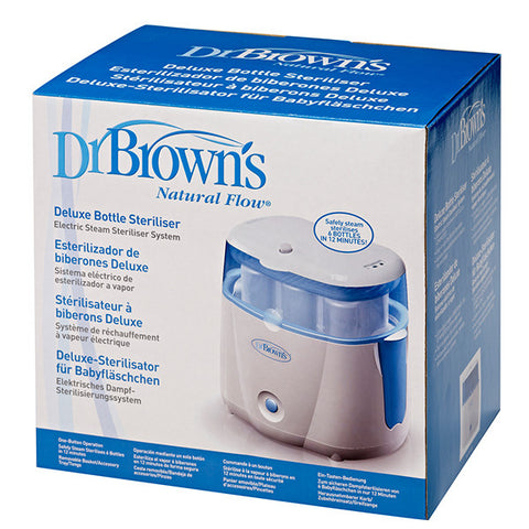 Dr Brown's Deluxe Electric Bottle Sterilizer Type G plug