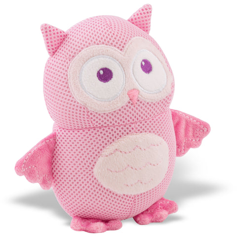 BreathableBaby Breathable Soft Toy Owl-Pink