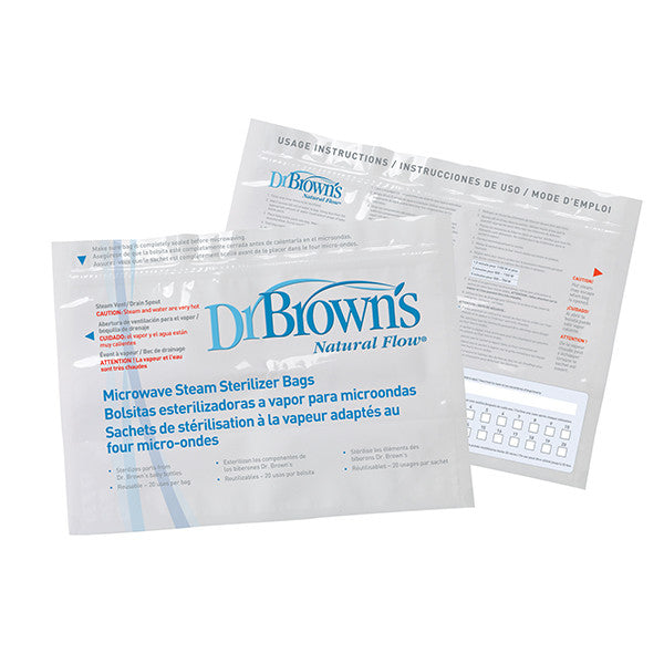 Dr Brown's Microwave Steam Sterlizer Bags