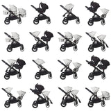 Baby Jogger City Select Single  Red - Black Frame