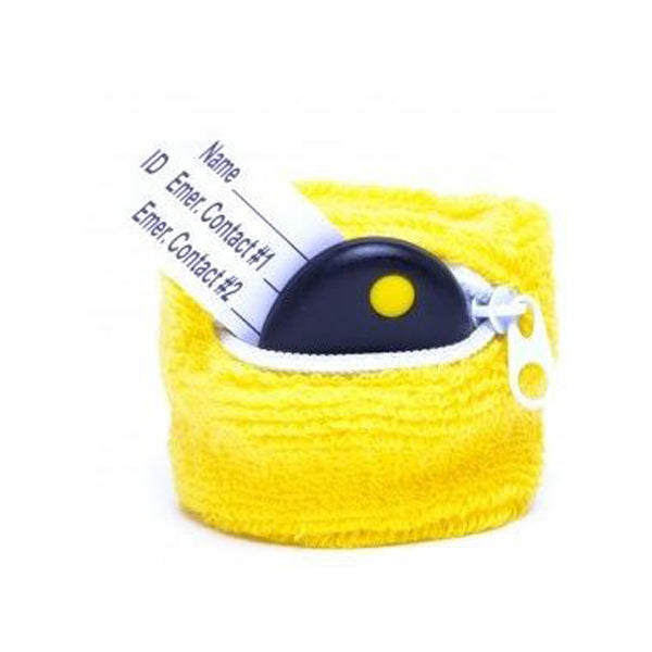 Buddy Tag + Yellow Terrycloth