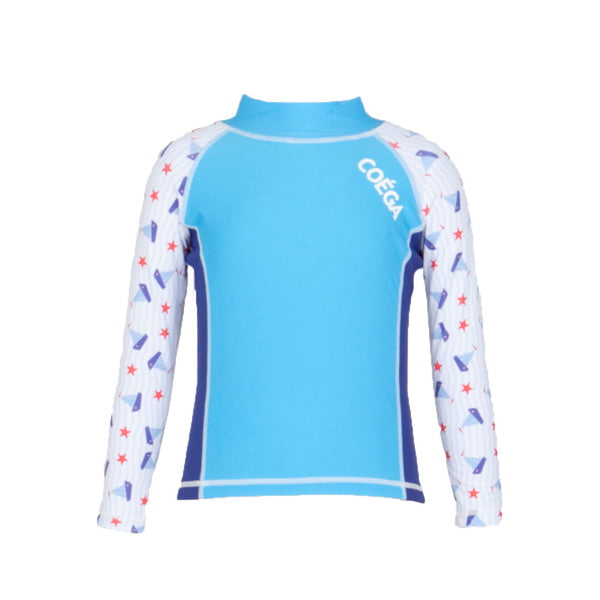 Boy Rashguard LS Sz 4 Blue Sailor (2017)