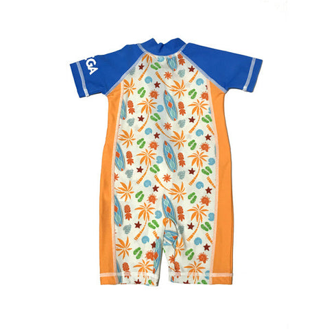 Baby Boy 1 pc swim suit Sz 6m Blue Surfs Up (2017)