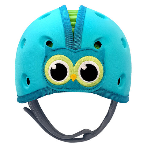 SafeheadBABY Owl Blue Green | راس أمن بيبي بوم ازرق اخضر