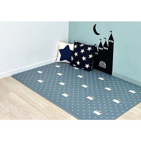 Bumpa Mats Navy Crowns/Blue Track