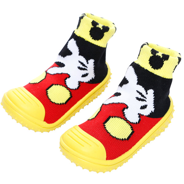 COOL GRIP Baby Shoe Socks (Mickey Mouse) SIZE 19