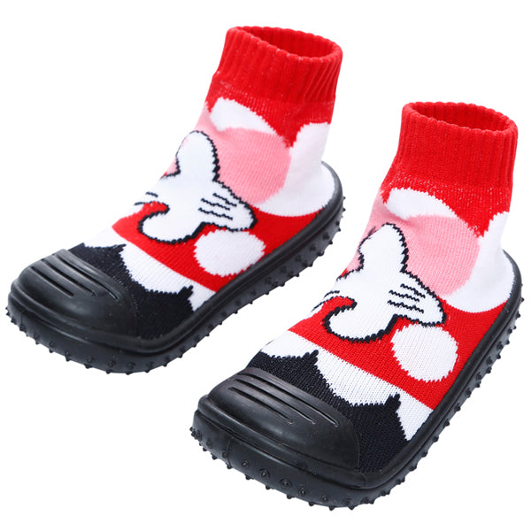 COOL GRIP Baby Shoe Socks (Minnie Mouse) SIZE 20