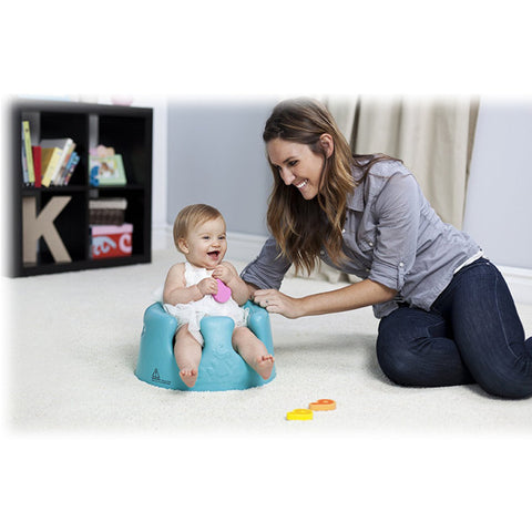BUMBO FLOOR SEAT AND TRAY COMBO - BLUE