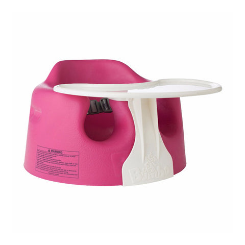 Bumbo BUMBO FLOOR SEAT AND TRAY COMBO - MAGENTA