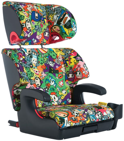 Clek Oobr Booster Seat Tokidoki All Over